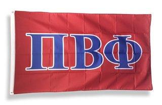 Pi Beta Phi Big Greek Letter Flag