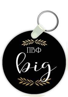 Pi Beta Phi Big Sister Keychain