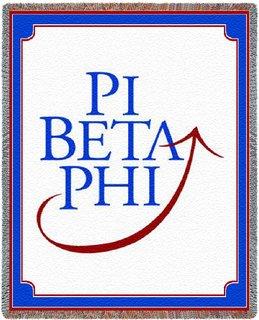 Pi Beta Phi Blanket Throw