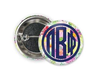 Pi Beta Phi Bouquet Button