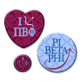 Pi Beta Phi Button Set