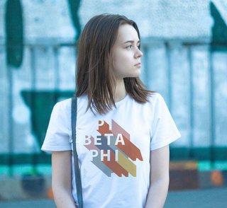 Pi Beta Phi Califonic Tee - Comfort Colors