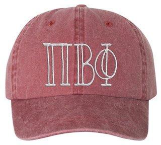 Pi Beta Phi Carson Greek Letter Hats