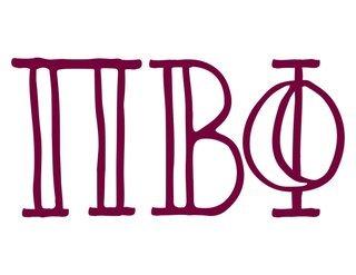 Pi Beta Phi Carson Greek Sticker