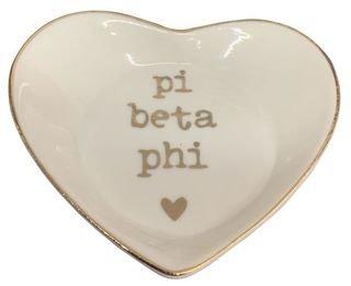 Pi Beta Phi Ceramic Ring Dish