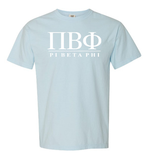 Pi Beta Phi Comfort Colors Heavyweight T-Shirt