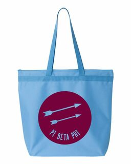Pi Beta Phi Circle Mascot Tote bag