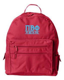 Pi Beta Phi Custom Text Backpack