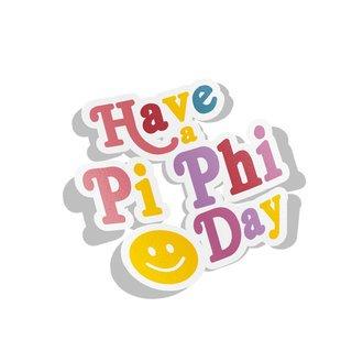 Pi Beta Phi Day Decal Sticker