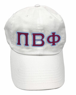 Pi Beta Phi Double Greek Letter Cap