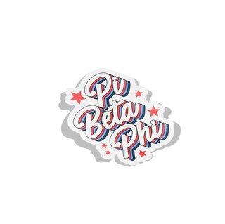Pi Beta Phi Flashback Decal Sticker