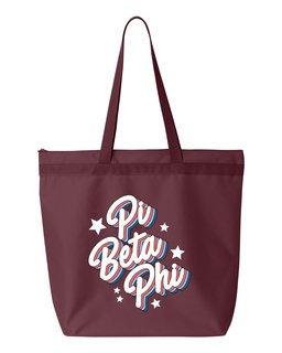 Pi Beta Phi Flashback Tote bag