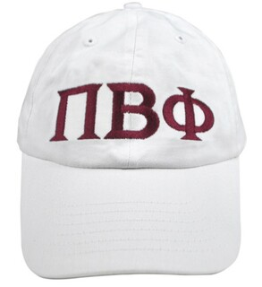 Pi Beta Phi Greek Letter Hat