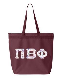 Pi Beta Phi Greek Letter Liberty Bag