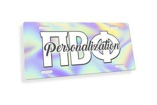 Pi Beta Phi Holla License Plate