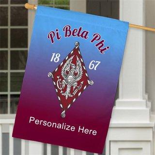Pi Beta Phi House Flag