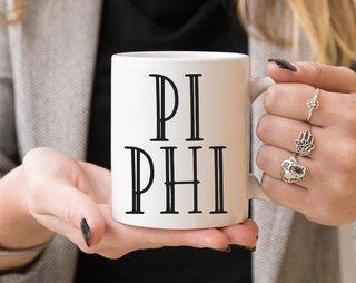Pi Beta Phi Inline Coffee Mug