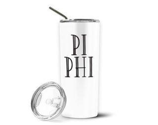Pi Beta Phi Inline Stainless Tumbler