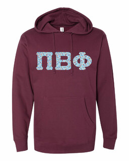 Pi Beta Phi Lettered Independent Trading Co. Hooded Pullover Sweatshirt