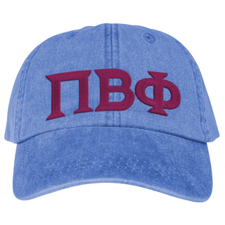 Pi Beta Phi Lettered Premium Pastel Hat