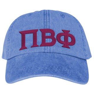 Pi Beta Phi Lettered Premium Pastel Hat