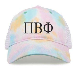 Pi Beta Phi Lettered Rainbow Cap