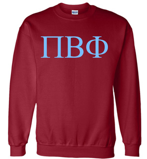Pi Beta Phi Lettered World Famous $19.95 Greek Crewneck