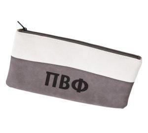 Pi Beta Phi Letters Cosmetic Bag
