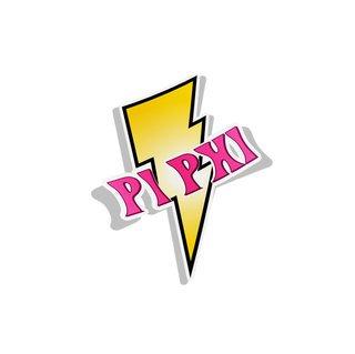 Pi Beta Phi Lightning Bolt Decal