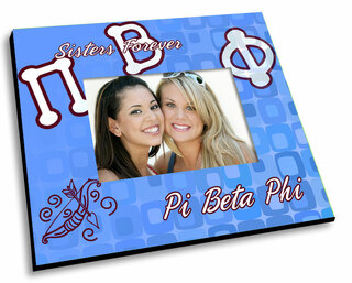 Pi Beta Phi Mascot Color Picture Frame