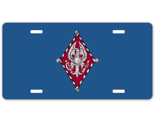 Pi Beta Phi Crest - Shield License Plate