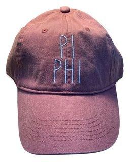 Pi Beta Phi Mod Pigment Dyed Baseball Cap