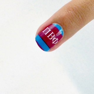 Pi Beta Phi Nail Strips