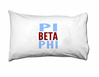 Pi Beta Phi Name Stack Pillow Cover