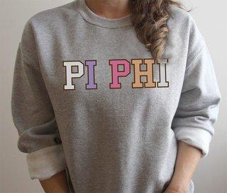 Pi Beta Phi Nickname Crew Sweatshirt