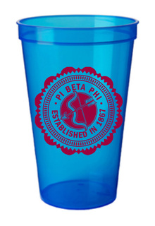 Pi Beta Phi Old Style Classic Giant Plastic Cup