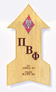 Pi Beta Phi Paddle / Plaque