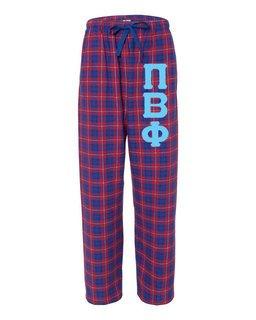 Pi Beta Phi Pajamas -  Flannel Plaid Pant
