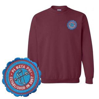 Pi Beta Phi Patch Seal Sweatshirt