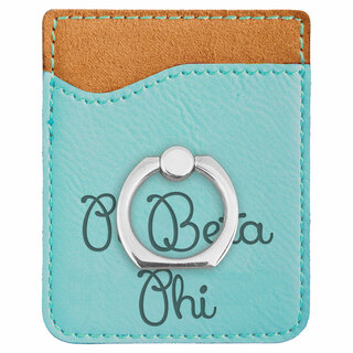 Pi Beta Phi Phone Wallet with Ring