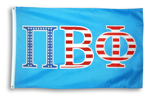 Pi Beta Phi  Pi 3 X 5 USA Flag