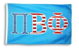 Pi Beta Phi  Pi 3 X 5 USA Flag