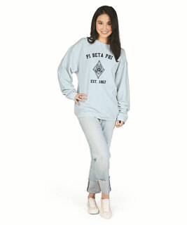Pi Beta Phi Camden Crewneck Sweatshirt
