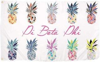 Pi Beta Phi Pineapple Flag