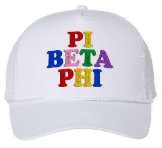 Pi Beta Phi Rainbow Trucker Hat