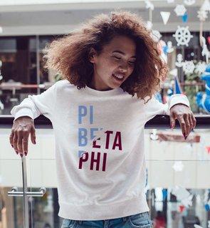 Pi Beta Phi Ripped Favorite Crewneck