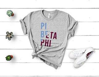 Pi Beta Phi Ripped Favorite T-Shirt