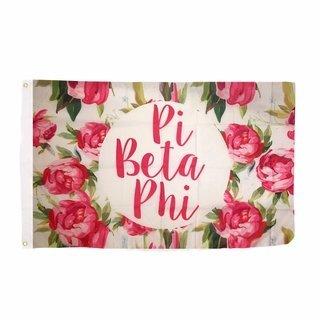 Pi Beta Phi Rose Flag