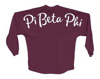 Pi Beta Phi Script Jersey