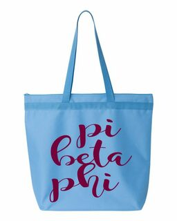 Pi Beta Phi Script Tote bag